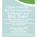 Allentown Bird Town First Anniversary Celebration