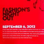 Fashion's Night Out at Lehigh Valley Mail September 6, 2012
